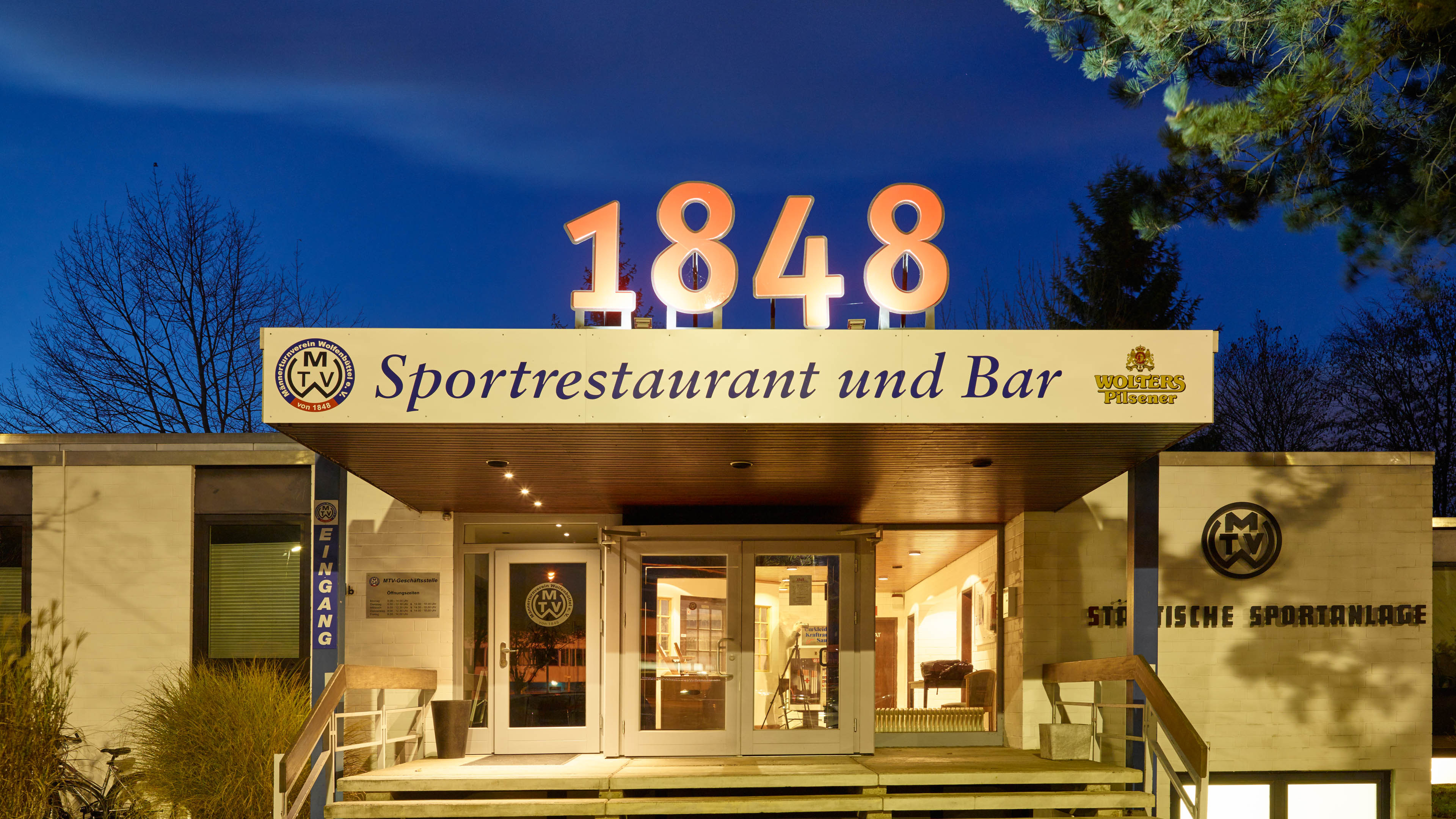 1848 - Sportrestaurant und Bar
